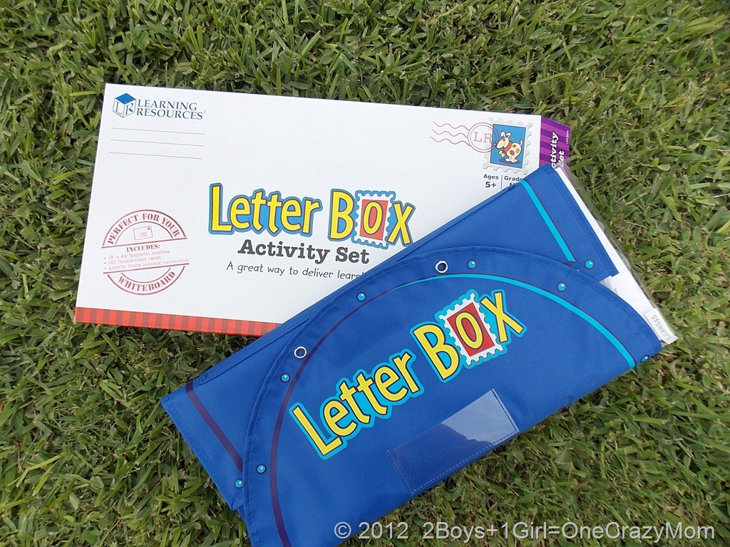 Learning Resources Letter Box Activity set {Review & Giveaway}