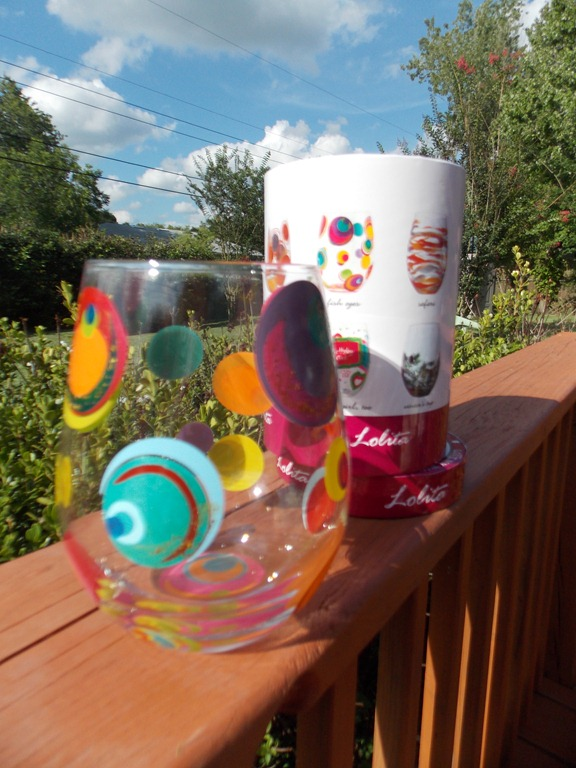 Summer time relaxing with Designs by Lolita Glassware #Review