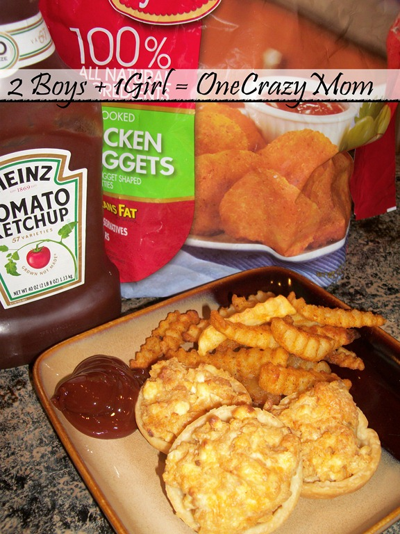 ... Buffalo Chicken Cups for snack - 2 Boys + 1 Girl = One Crazy Mom