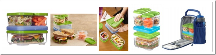 Rubbermaid LunchBlox 2