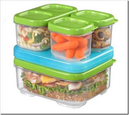 Have lunch in style with Rubbermaid LunchBlox #Review & #Giveaway