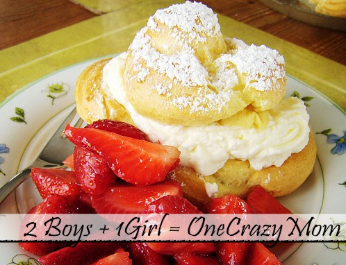 """German Bakery """"Windbeutel"""" a/k/a Cream puffs homemade  and your Monday Meal Plan"""