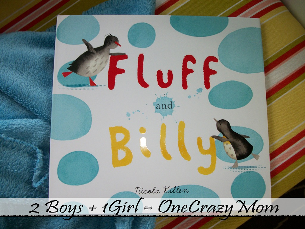 Enjoy the story of Fluff and Billy with your little ones #Book review