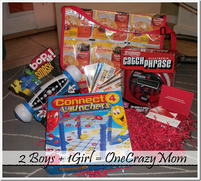 Get the kids off the couch and #NeverBeBoredAgain with Lunchables Lunch Creations #Giveaway