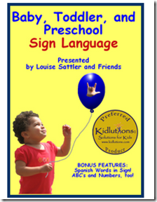 Teaching your little ones Sign Language can be simple and helpful #Giveaway