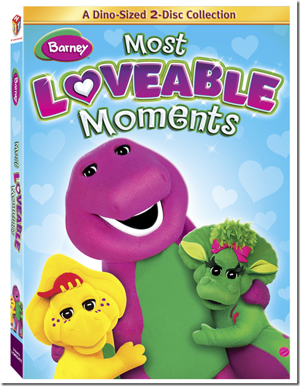 Barney's Most Loveable Moments DVD #Giveaway