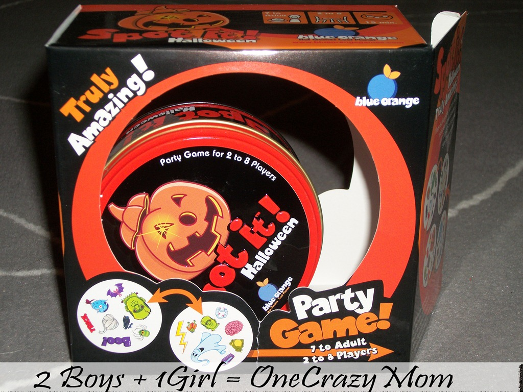 Trick or Treat with Spot it! Halloween  #Giveaway