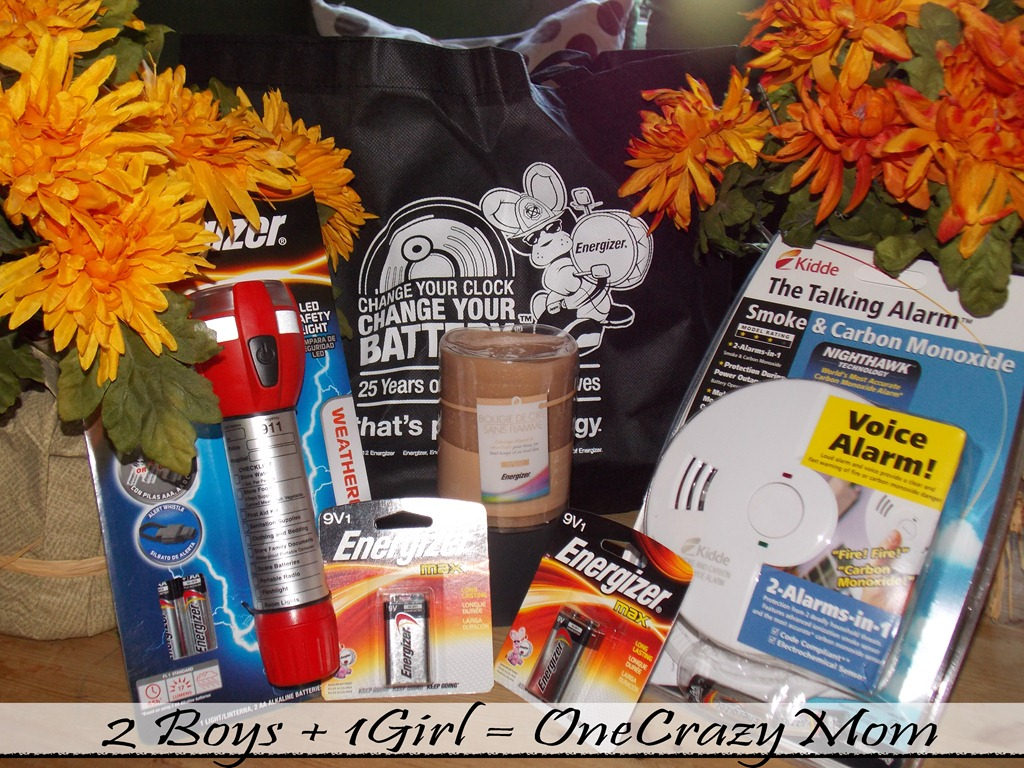 Check your Smoke Detectors and enter to win an Energizer prize pack #Giveaway