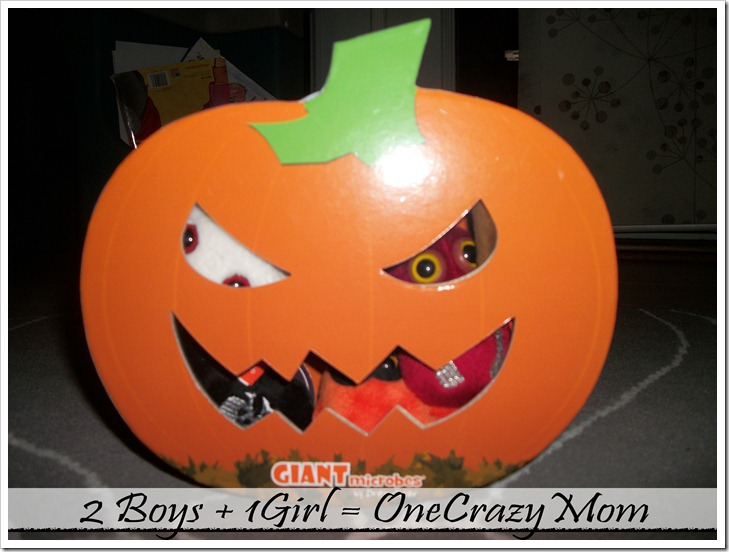 """Giant """"mini"""" Microbes are ready to Trick or Treat this Holiday Season #Giveaway"""