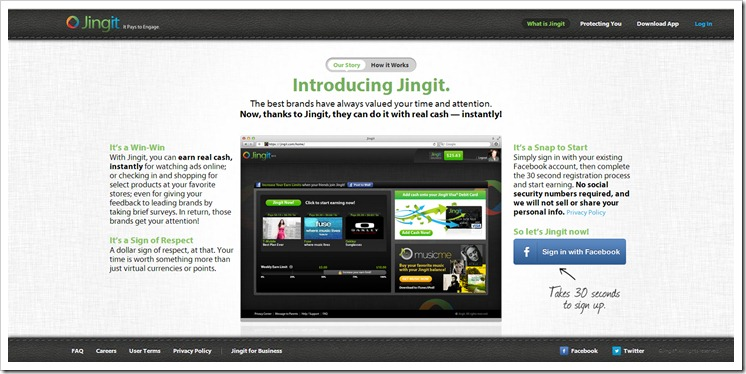 Earning cash couldn't be any easier ~ Do you #jingit? #Cbias