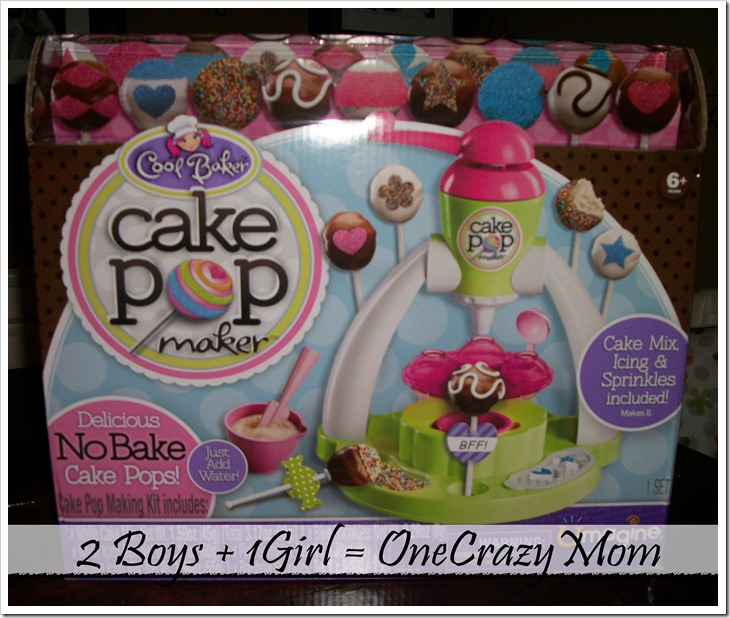 cake pop maker for your little ones are a hit giveaway 2 boys 1 girl one crazy mom. Black Bedroom Furniture Sets. Home Design Ideas