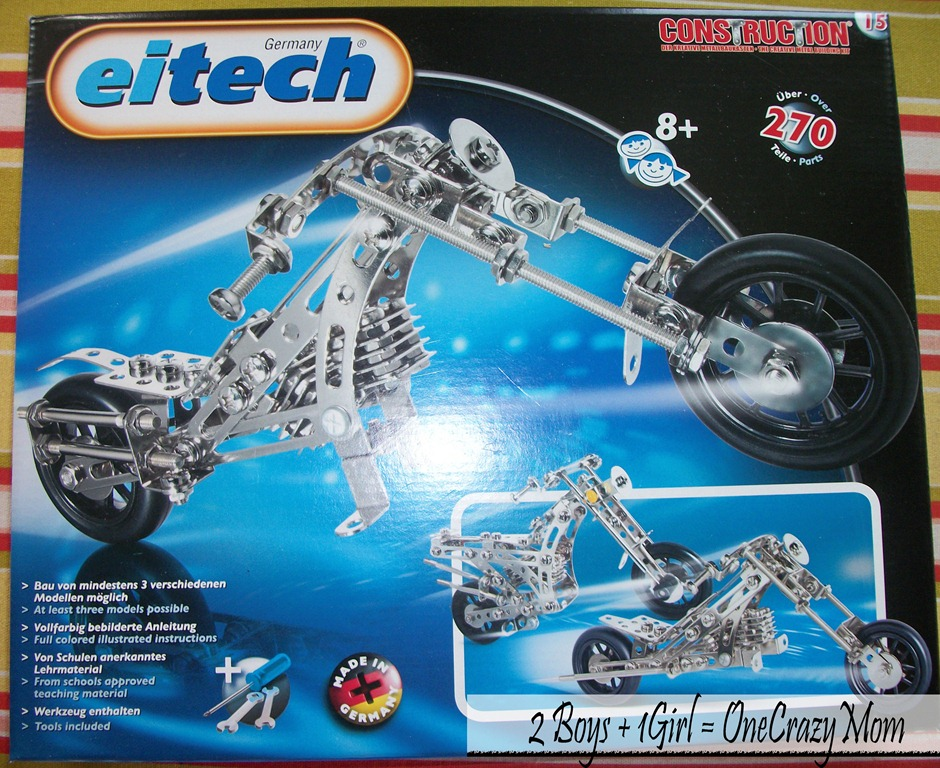 Germany Building Toys For Boys : Hot holiday toy eitech metal building set giveaway