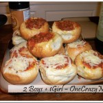 Pizza Garlic Bread Bowls
