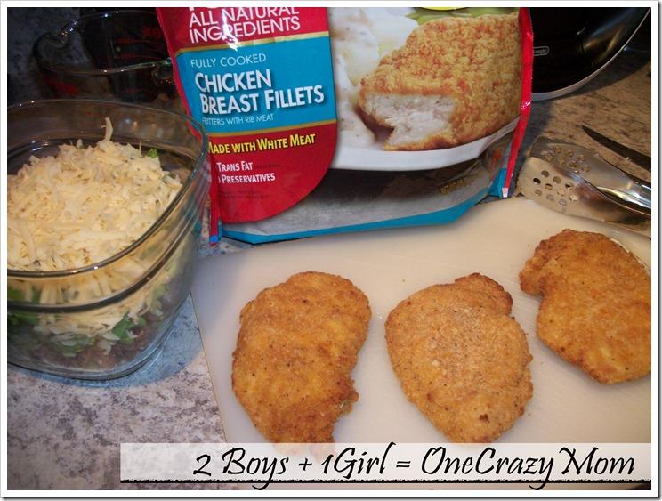 Simple Chicken Wraps with Tyson Crispie Chicken #Meals 2