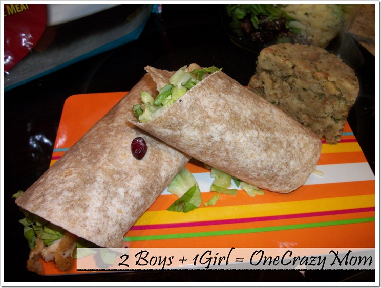 Simple Chicken Wraps with Tyson Crispie Chicken #Meals Together 2