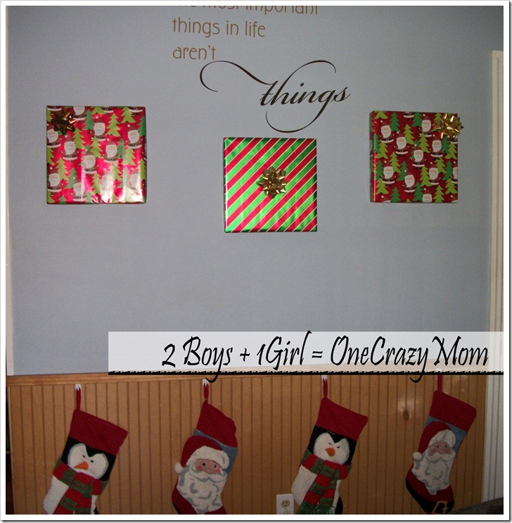 A simple way to decorate for christmas that won t break for Simple christmas decorations