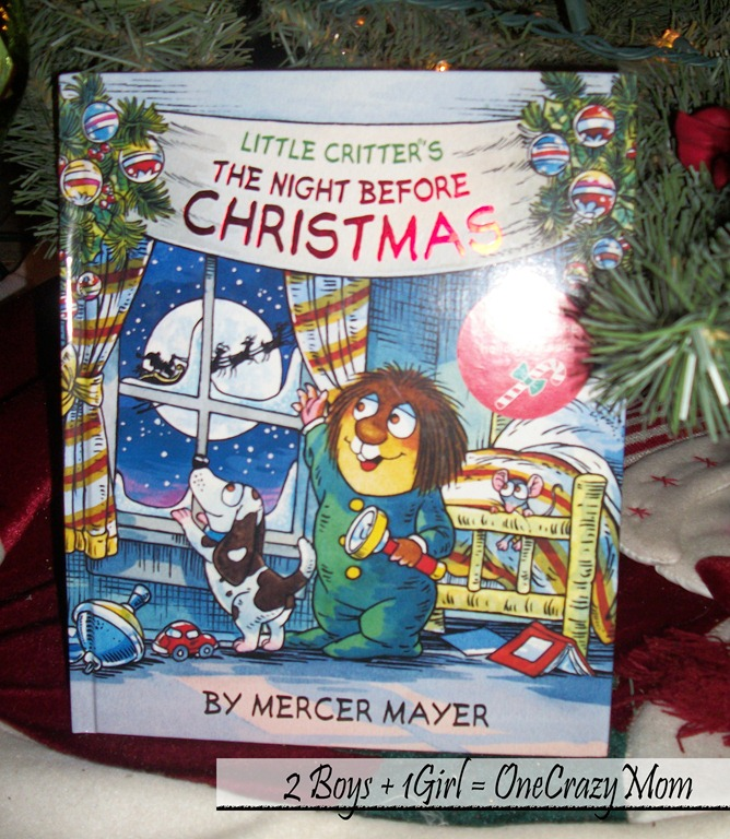 Christmas Countdown Book December 16