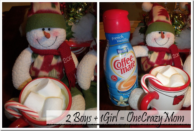 create the #UltimateCup with melted snowman drinks