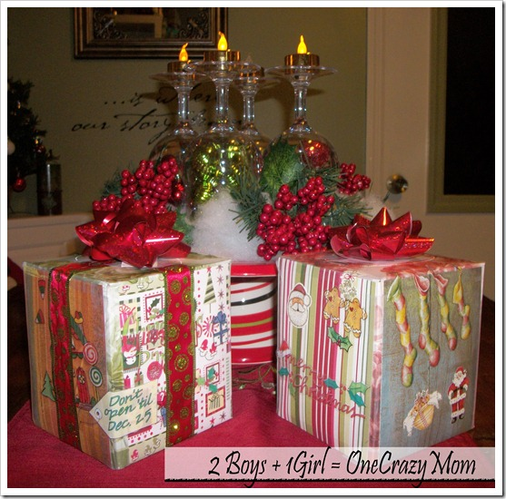 we created our own Scrapbook covered Kleenex boxes to #SharetheSoft