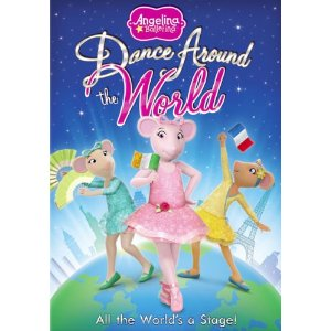 Dance Around the World with Angelina ballerina #Giveaway