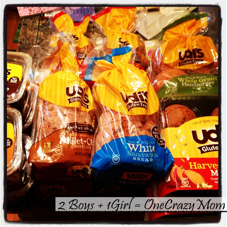 Udi's will keep us Happy and Healthy while living Gluten free #Review