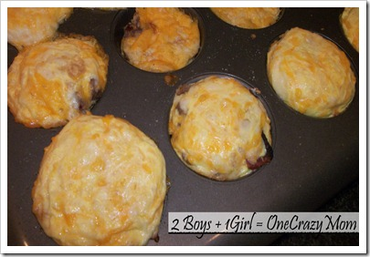 breakfast for a champion #JennieO4kids the easy way with eggs in a muffin tin