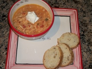 What's cookin' in your kitchen? We have a Chicken Chili Crockpot #recipe to drool over