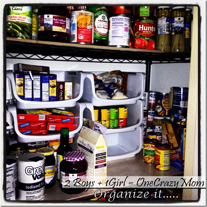 Organize your pantry and kitchen