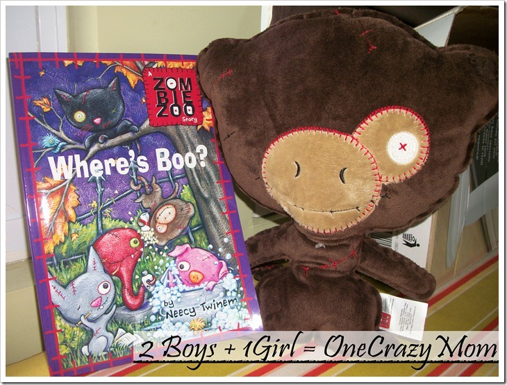 """ZombieZoo #Booktour #Giveaway """"Where's boo?"""""""