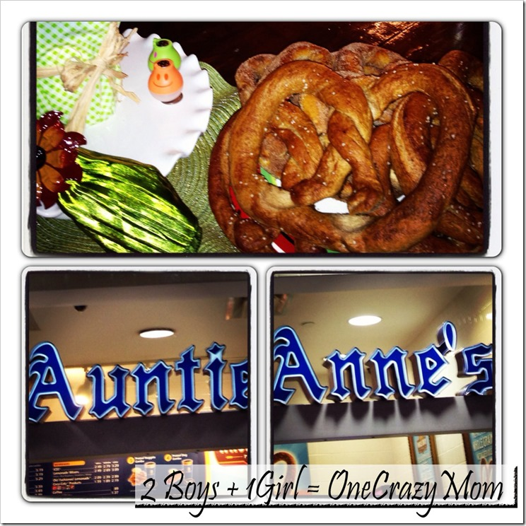 Come check out the new Honey Whole Grain Auntie Anne's Pretzel #Giveaway