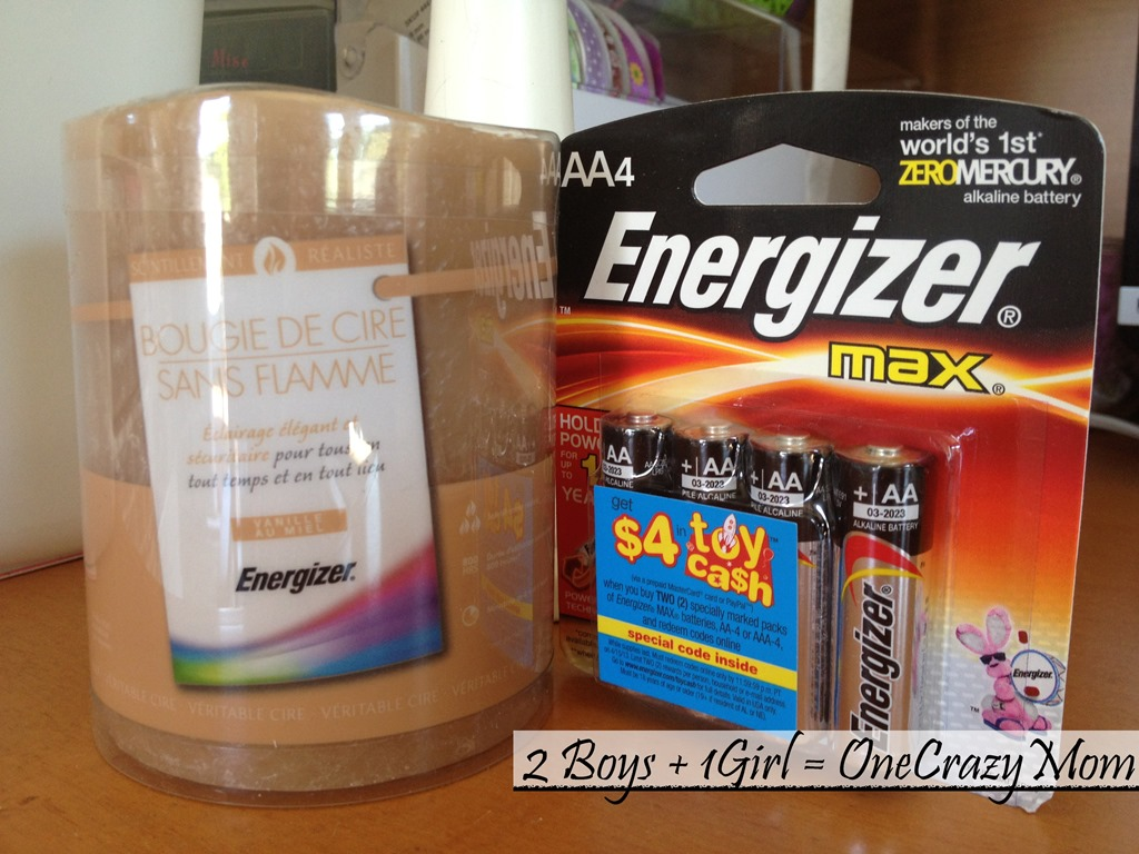 Stay Safe and enjoy your candles again with Energizer Flameless Candles #Giveaway