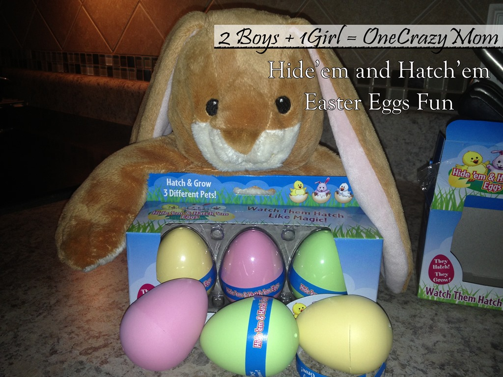 Hide'em and Hatch'em super cute Easter Egg Surprise #Review