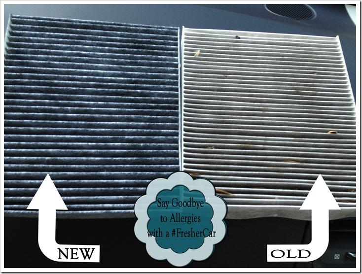 Charmant Old Vs New Filter To Get A #FresherCar