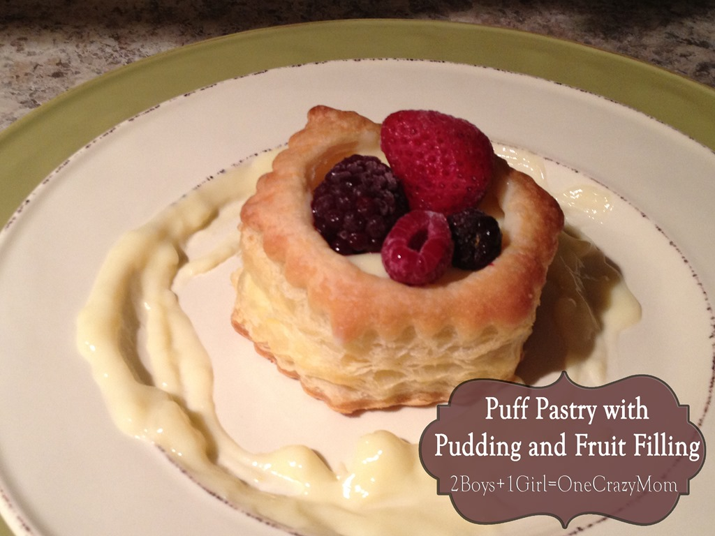 Simple french pastry recipe made at home for dessert 2 boys 1 simple yet elegeant puff pastry dessert ala french cuisine forumfinder Image collections