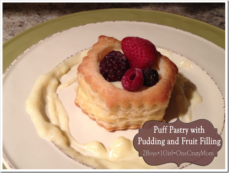 Simple French Pastry #Recipe made at home for #Dessert