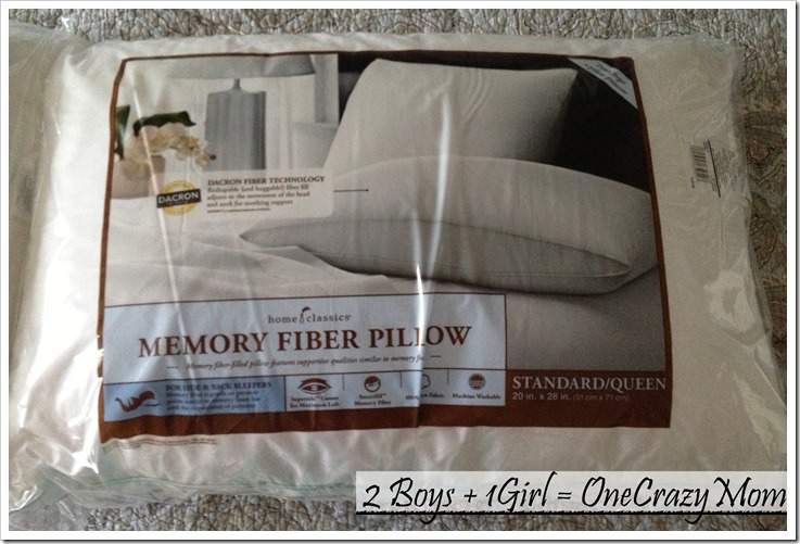 #SleepBettr with Home Classic Memory Fiber Pillow only at Kohls