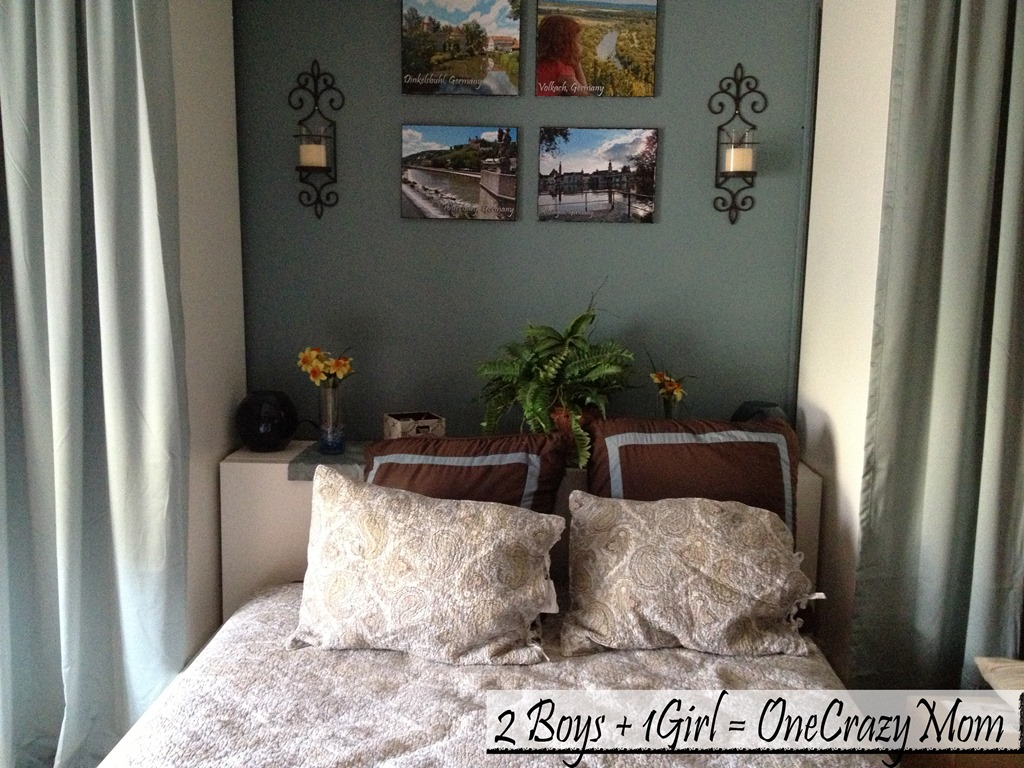 Bedroom makeover with a Home Classic Memory Fiber Pillow will get you #SleepBetter as well #Review