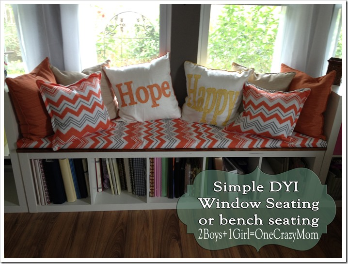Create a window seat DIY and make it look like a million bucks 2