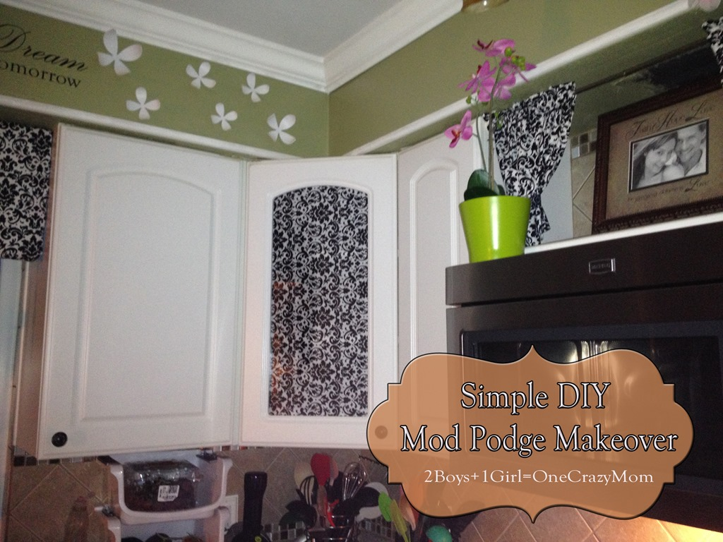 Customize your home with #DIY projects and Mod Podge #Simple