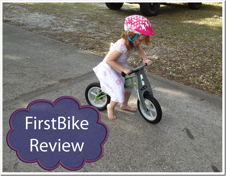 FirstBike review on the road