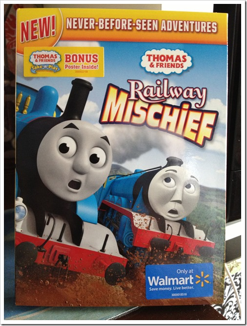 Check out the new Thomas & Friends Adventure Railways Mischief #Giveaway