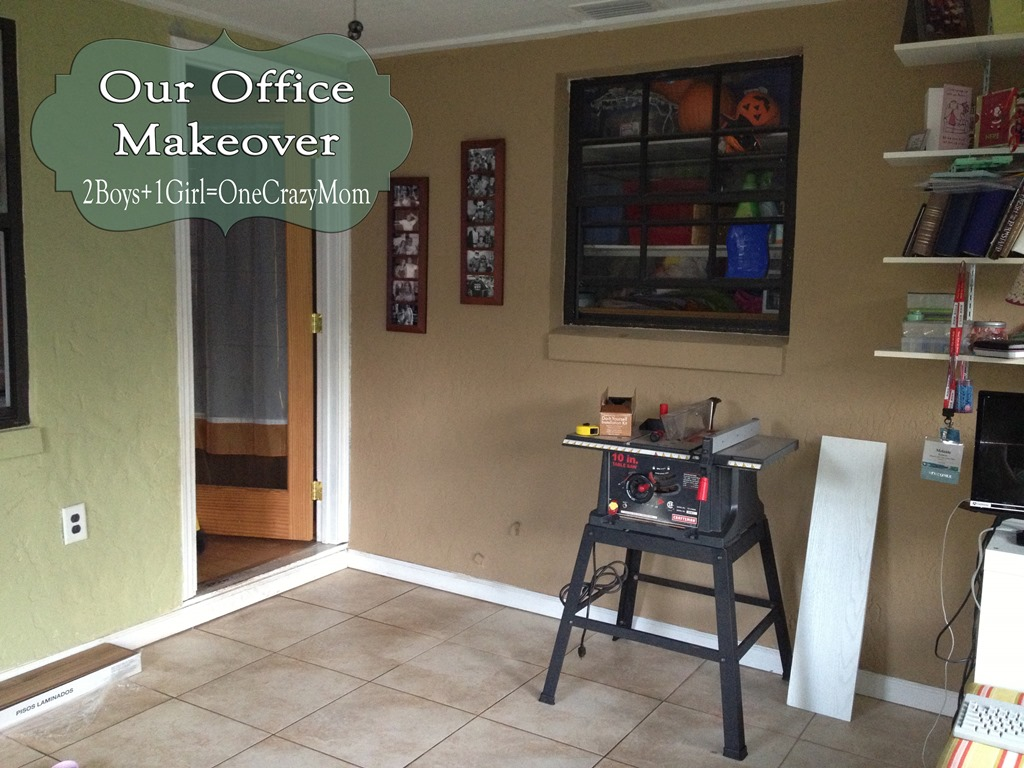 My office makeover #DIY project is finally done