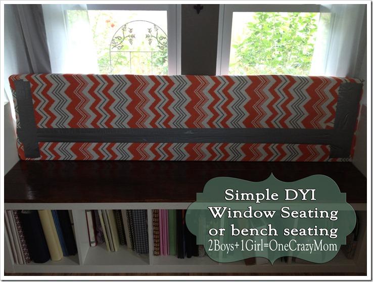 Simple way to creat a window seat #DYI