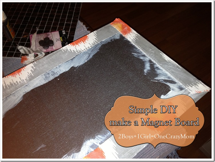 Step by Step on the #DIY Magnet Board 2