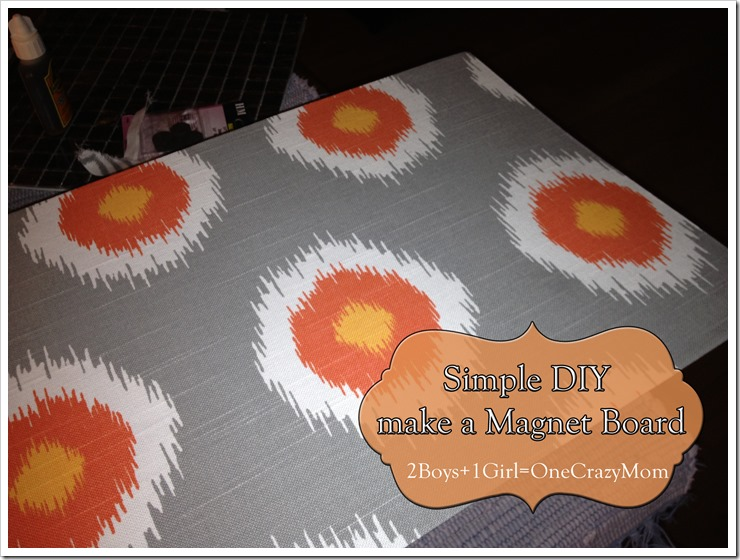 Step by Step on the #DIY Magnet Board 3