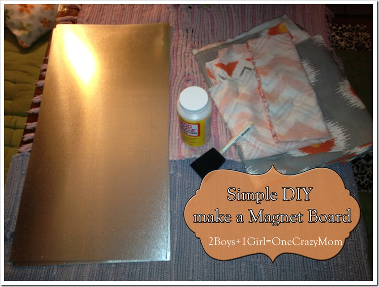 This is what you need for your #DIY magnet Board
