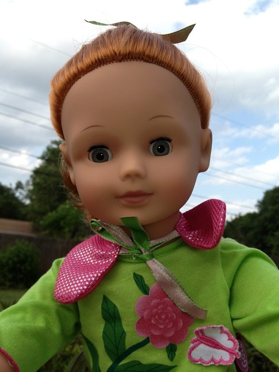 Meet our Precious Götz doll Julia #Review and #Giveaway
