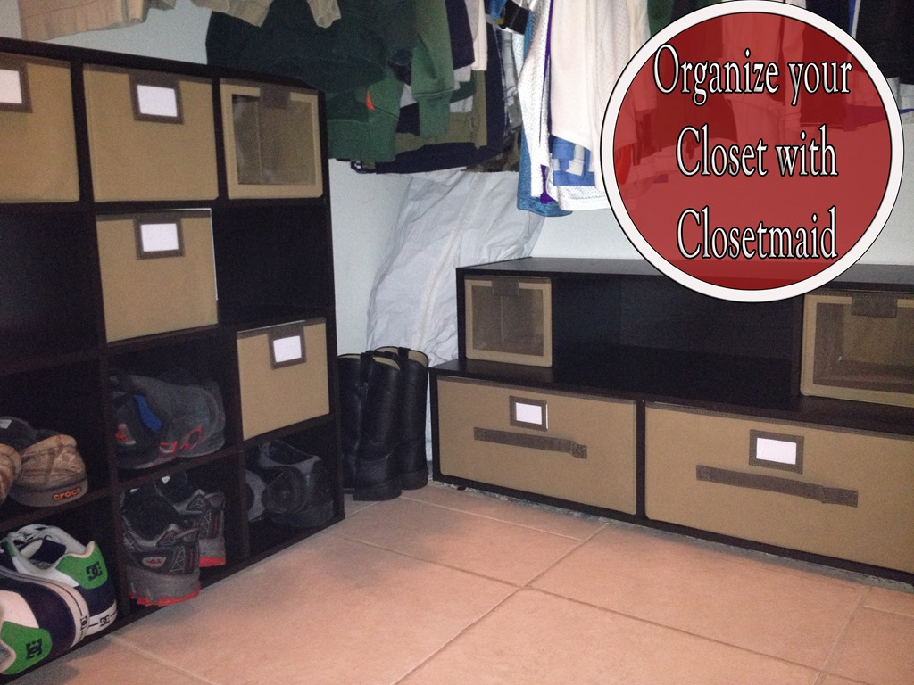 Get your closet organized with ClosetMaid #Review & Giveaway