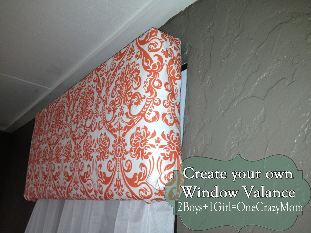 Make Your Own Diy Window Valance In No Time An No Sew 2