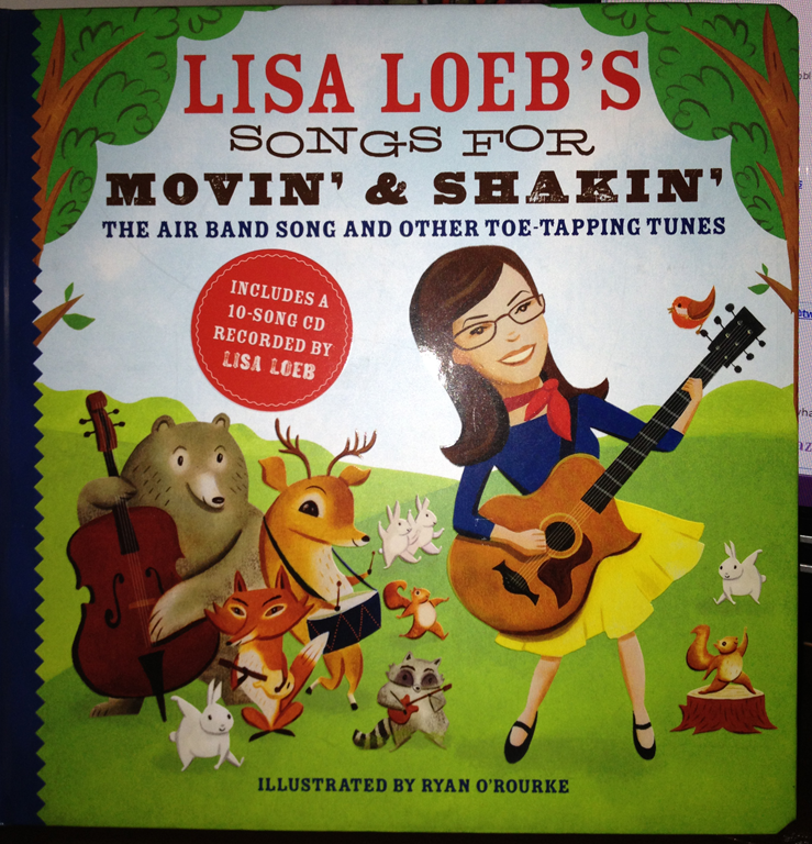So much fun with the Songs for Movin' & Shakin' Book #Review from @LisaLoeb and @SterlingKids